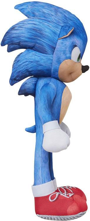 "Pelúcia Sonic 13"": Sonic the Hedgehog (Emite sons) - Jakks Pacific"
