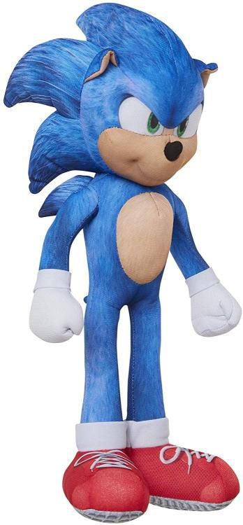 "Pelúcia Sonic 13"": Sonic the Hedgehog (Emite sons) - Jakks Pacific"