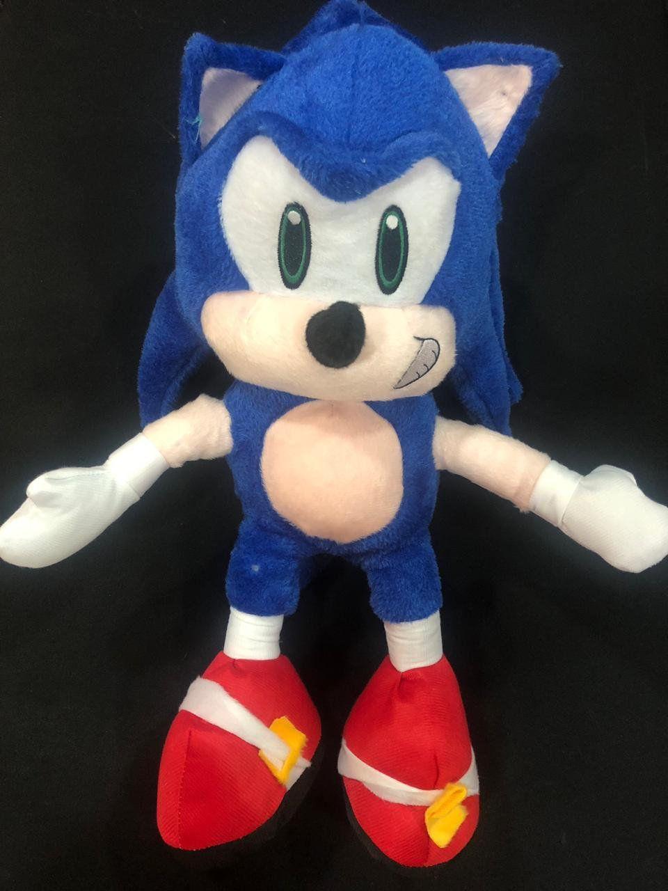 Pelúcia Sonic: Sonic The Hedgehog - 45cm