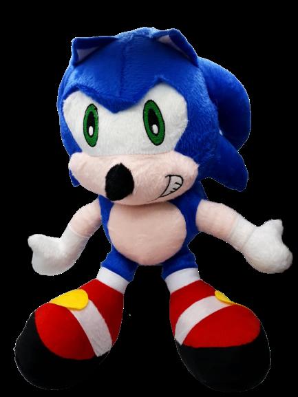 Pelúcia Sonic: Sonic The Hedgehog - 40cm