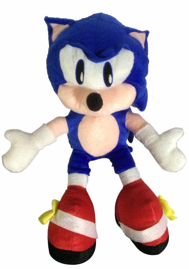 Pelúcia Sonic: Sonic The Hedgehog - Médio
