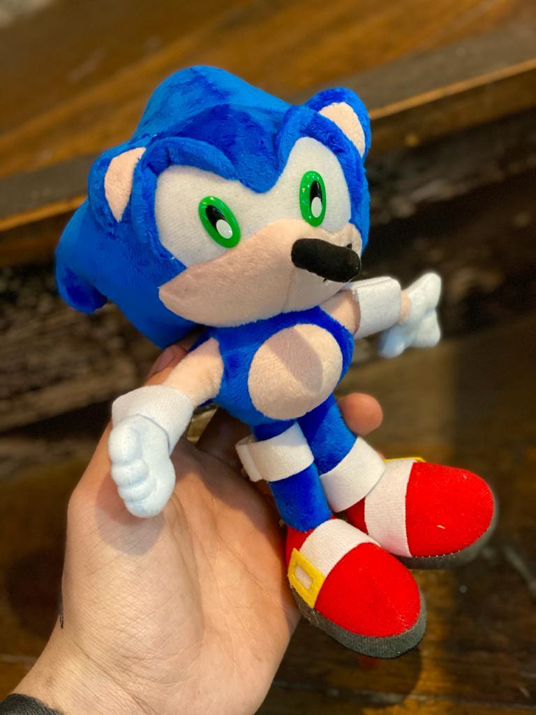 Pelúcia Sonic: Sonic The Hedgehog (Pequeno)
