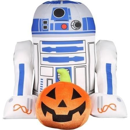 Pelucia Star Wars: R2D2 Halloween - Greeter Disney