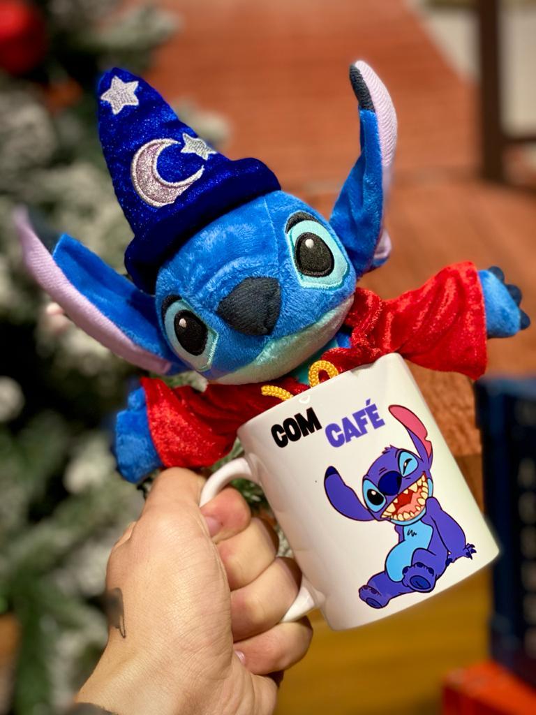 Pelúcia Stitch o Magico:Lilo e Stitch - Disney (25cm)