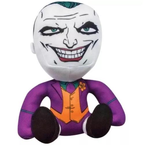 Pelúcia Super Hero: Coringa (Joker) - Liga da Justiça (Justice League) - DTC