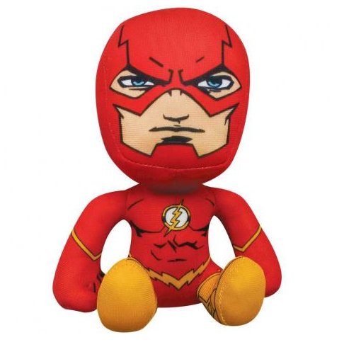 Pelúcia Super Hero: Flash - Liga da Justiça (Justice League) - DTC