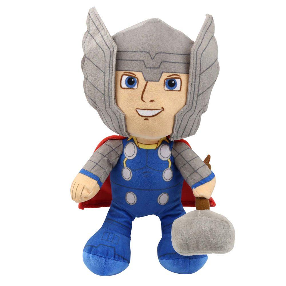 Pelúcia Thor: Vingadores (Avengers) Marvel - DTC