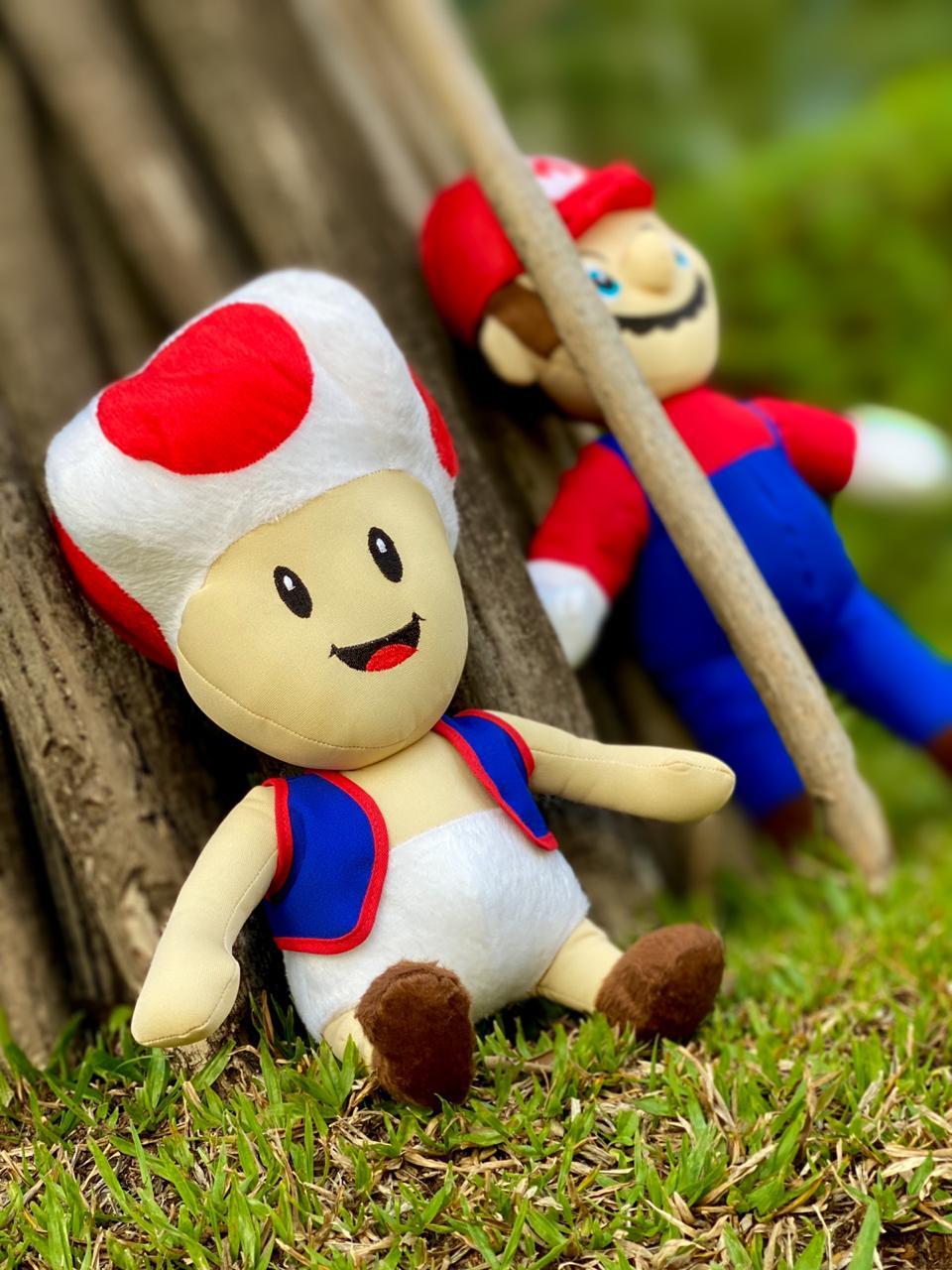 Pelúcia Toad: Super Mario Bros