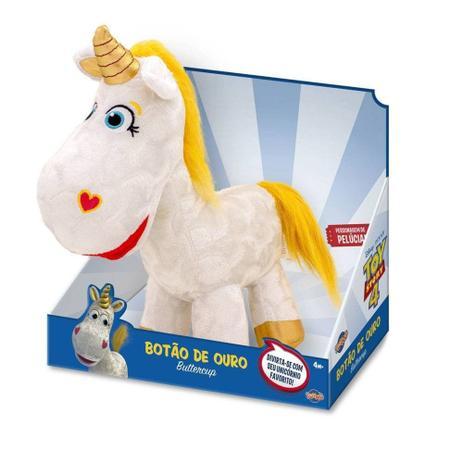 Pelúcia Unicórnio Botão De Ouro: Toy Story 4 - Toyng
