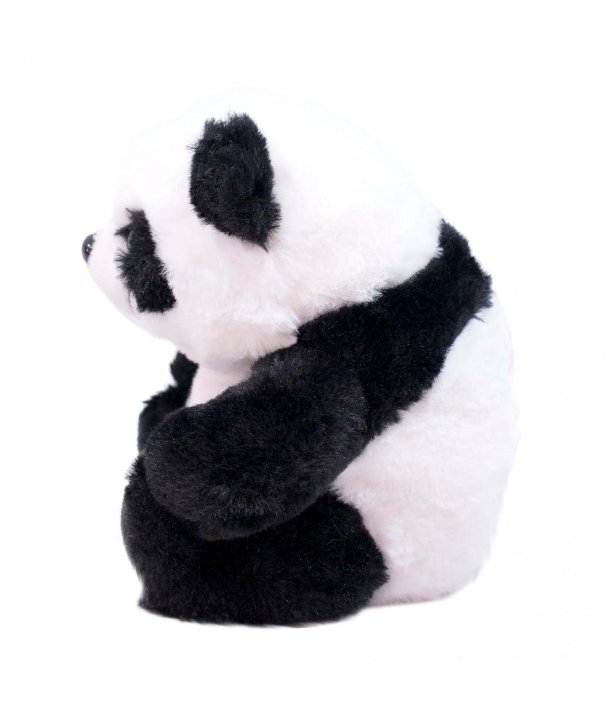 Pelúcia Ursinho Panda Sentado (23cm) (Pequeno)