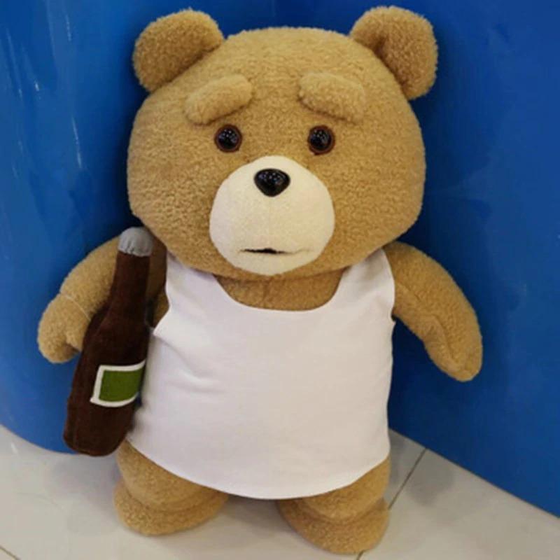 Pelucia Urso Ted Camiseta Branca: Ted 2 - MKP