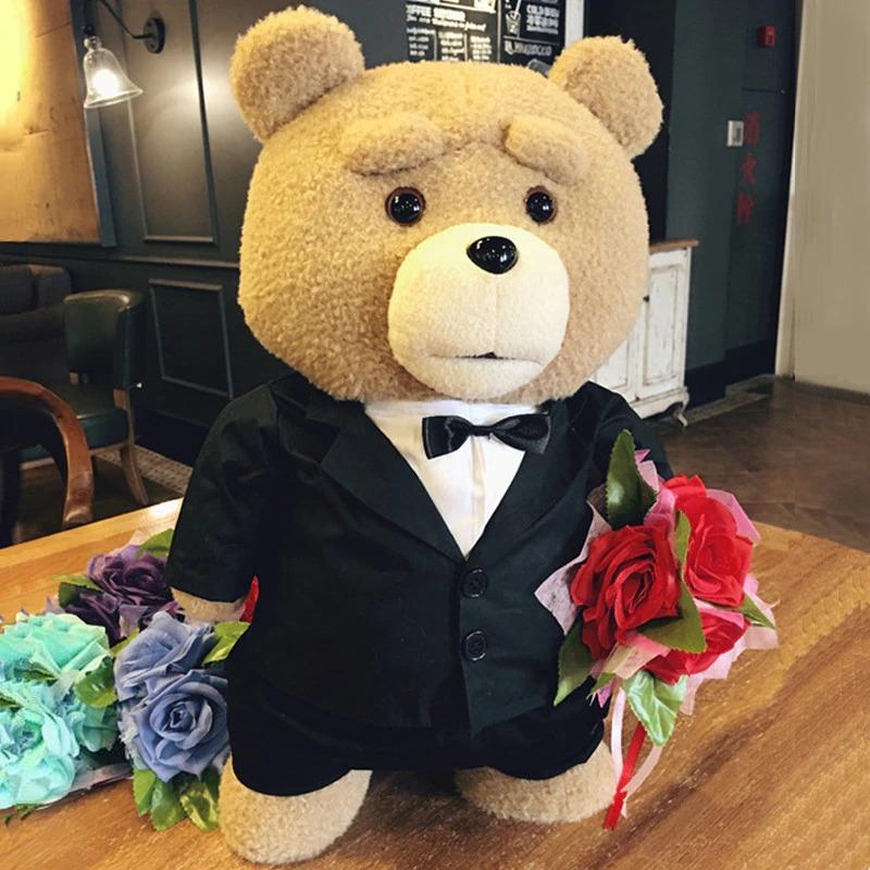 Pelucia Urso Ted Roupa de Gala : Ted 2 - MKP