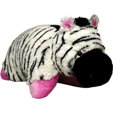 Pelúcia Zebra: Pillow Pets