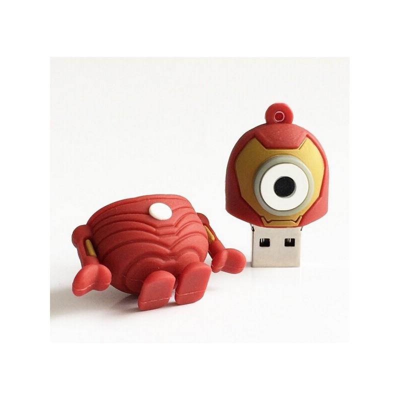 Pen Drive Minion Iron Man -  4GB - Vdesign