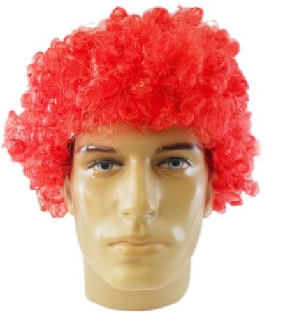 Peruca Festa Party Wigs (Vermelha) -  Acessório de Fantasia