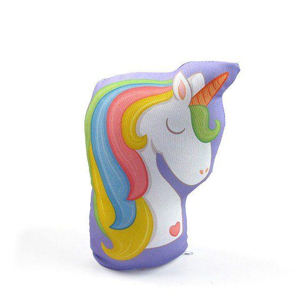 Peso de Porta Unicórnio Arco-íris