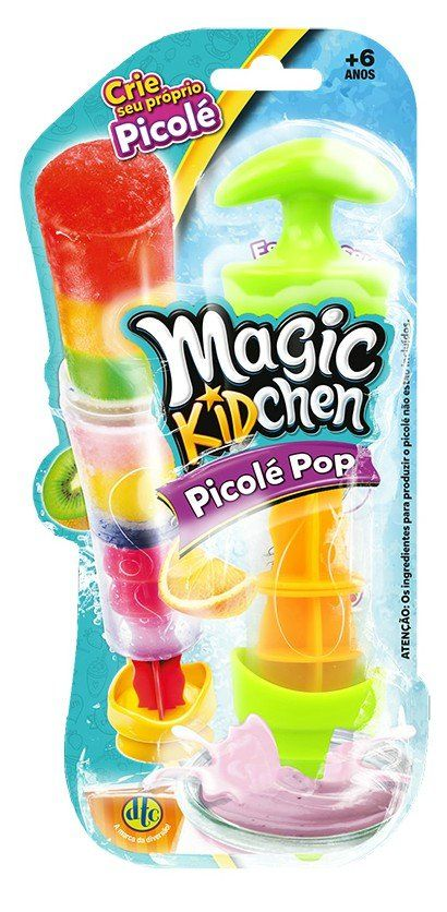 Picolé Pop: Magic Kidchen (Verde e Laranja) - DTC
