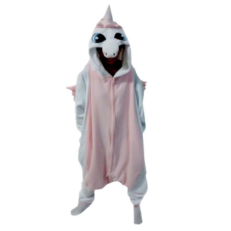 Pijama (Kigurumi) Adulto: Unicórnio - Rosa