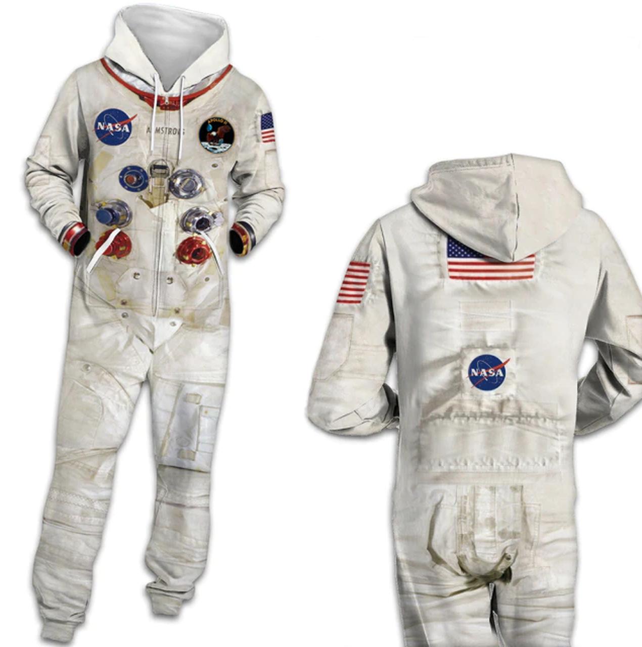 Pijama Macacão Adulto Unissex Astronauta NASA - EVALI