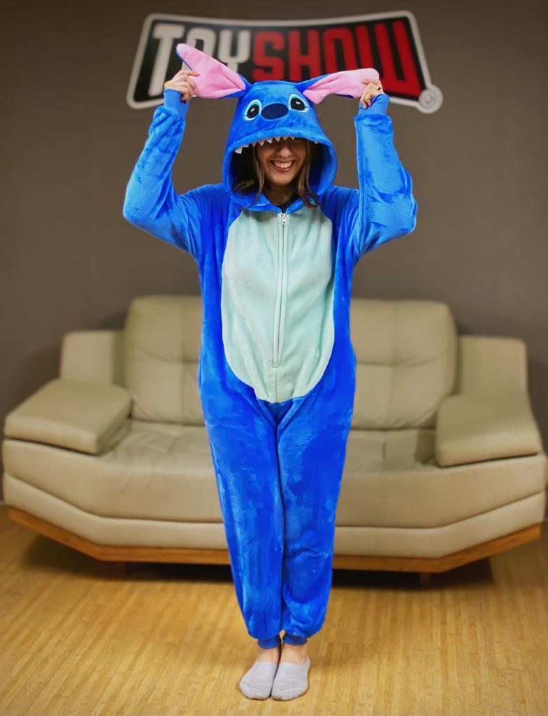 Pijama Macacão Kigurumi Adulto Stitch: Lilo & Stitch - Disney