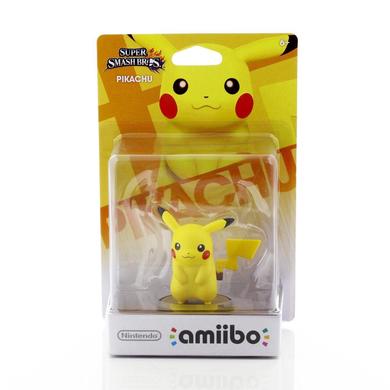 Pikachu Amiibo: Super Smash Bros - Nintendo