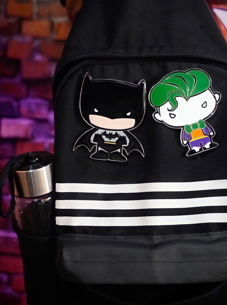Pin Bottom Geek Batman Funpin Liga Da Justiça Justice League - DC Comics - Zona Criativa