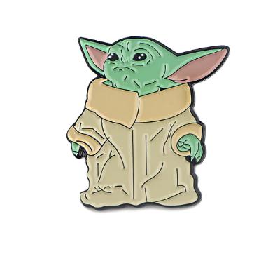 Pin Bottom Metálico Baby Yoda: Guerra nas Estrelas Star Wars - Disney+ - MKP