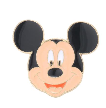Pin Bottom Metálico Rosto Mickey Mouse: Mickey e Minnie Mouse - Disney+ - MKP