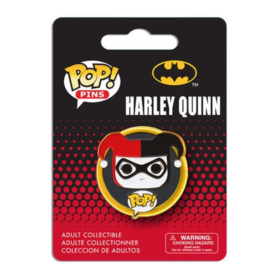 Funko Pins e Buttons POP! DC Comics: Harley Quinn - Funko