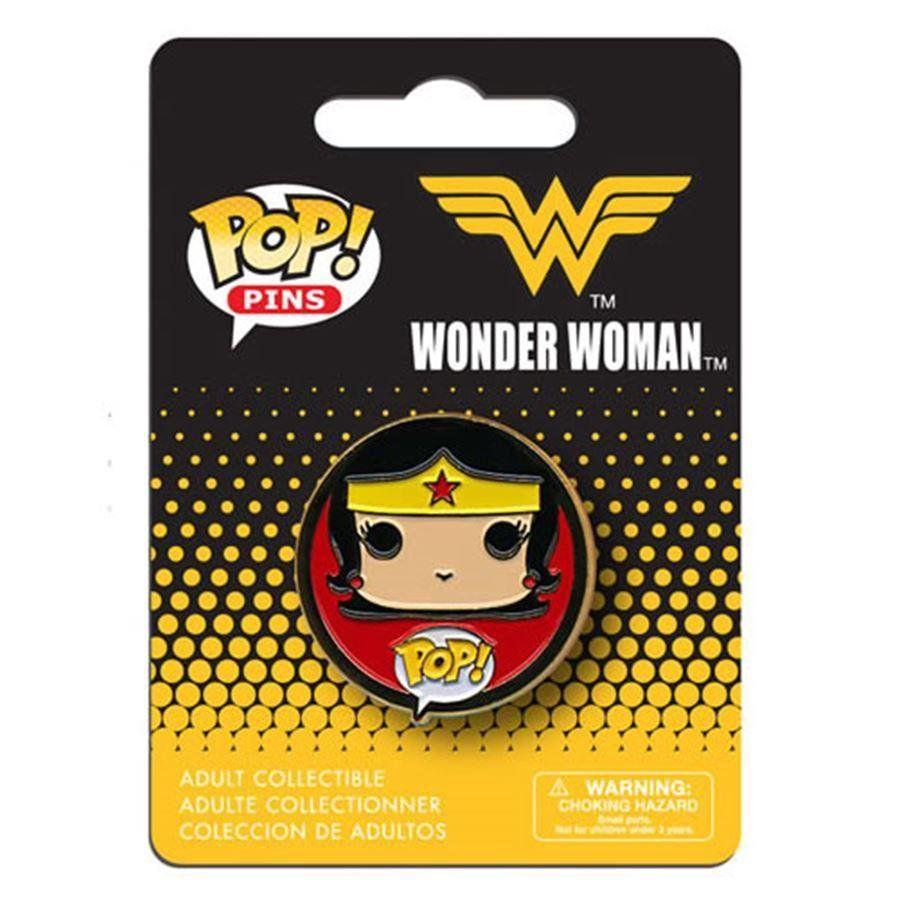 Funko Pins e Buttons POP! DC Comics: Wonder Woman - Funko