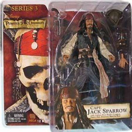 Piratas do Caribe Jack Sparrow - Neca