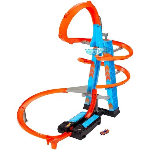 Pista de Percurso Hot Wheels: Action Torre de Colisão Aérea - Mattel