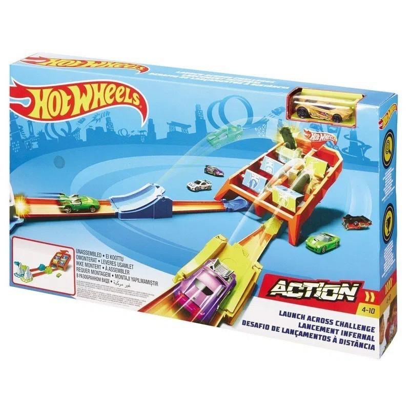 Pista Hot Wheels Action: Desafio de Lançamento - Mattel