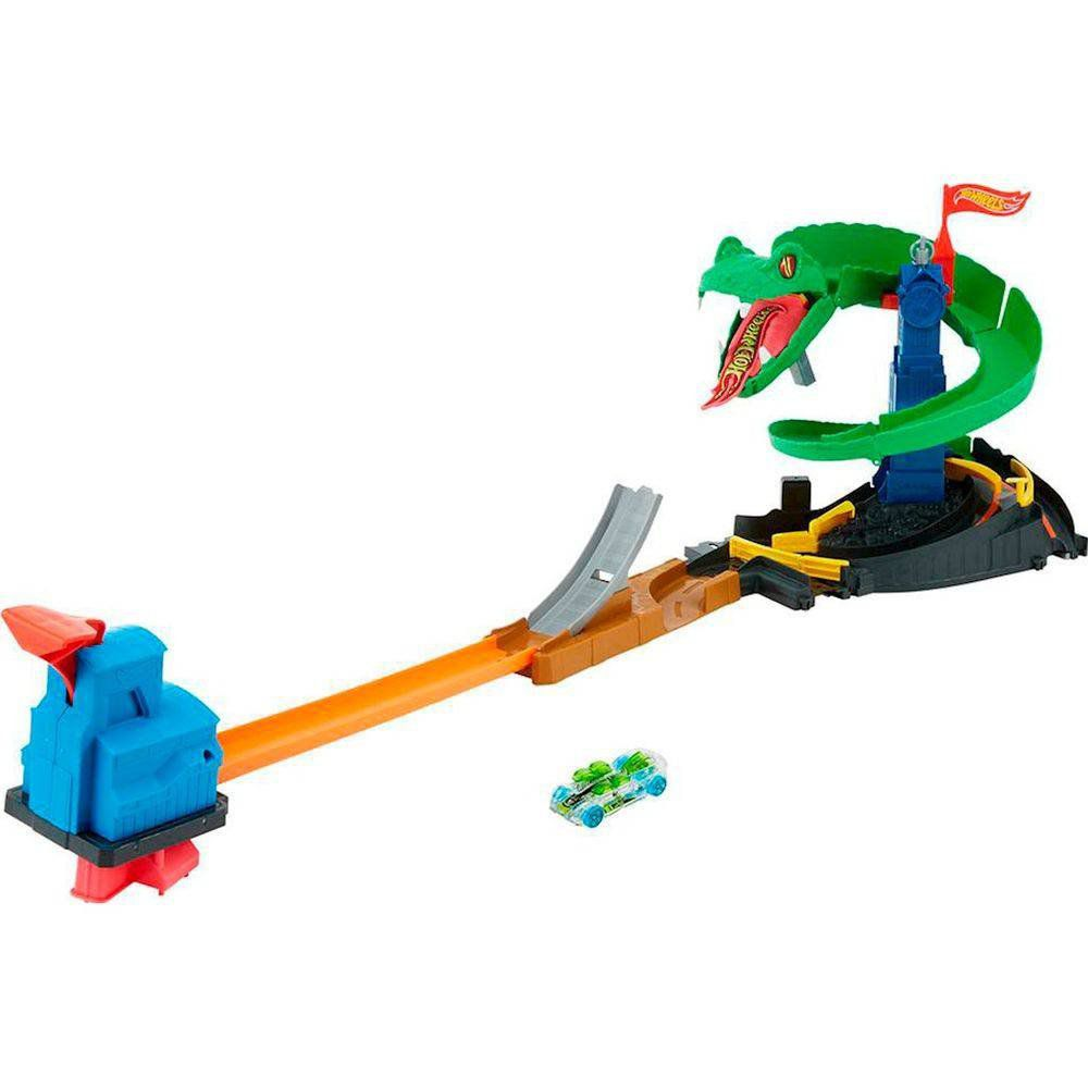 Pista Hot Wheels City: Ataque de Cobra - Mattel
