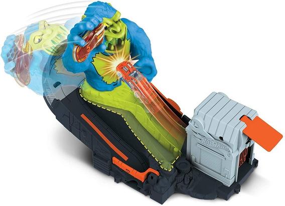 Pista Hot Wheels City: Ataque Toxico Do Gorila - Mattel