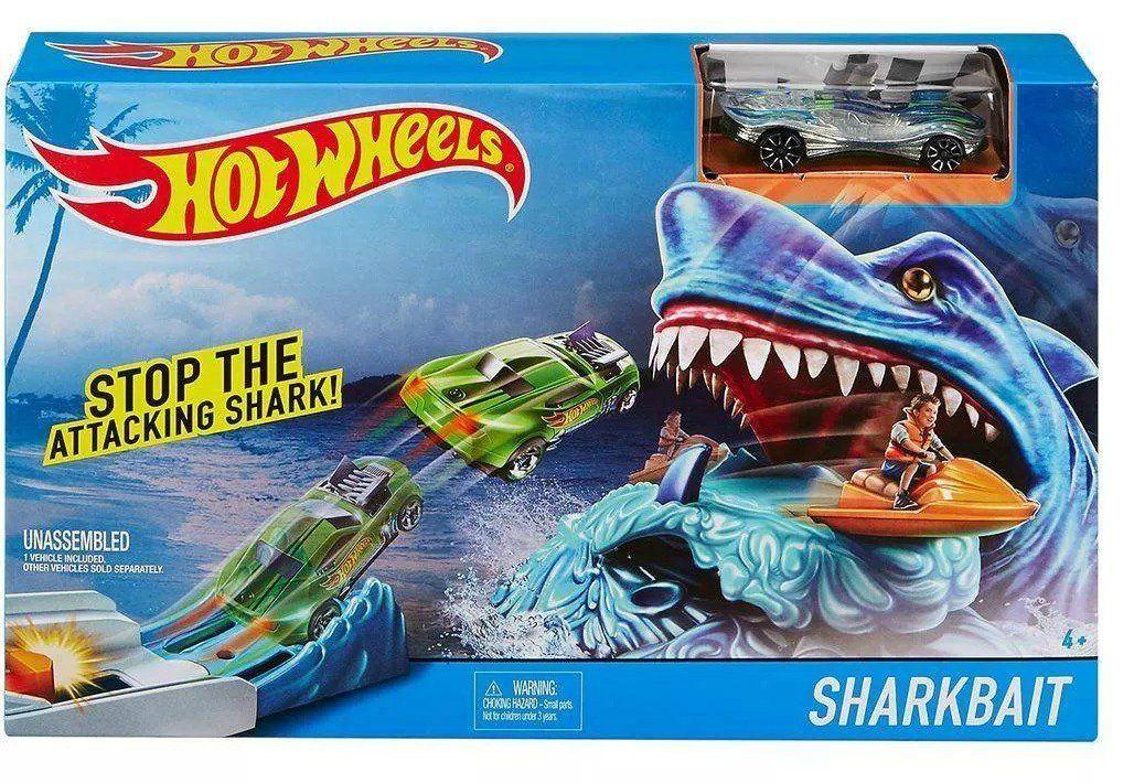 Pista Hot Wheels Desafio do Tubarão - Mattel
