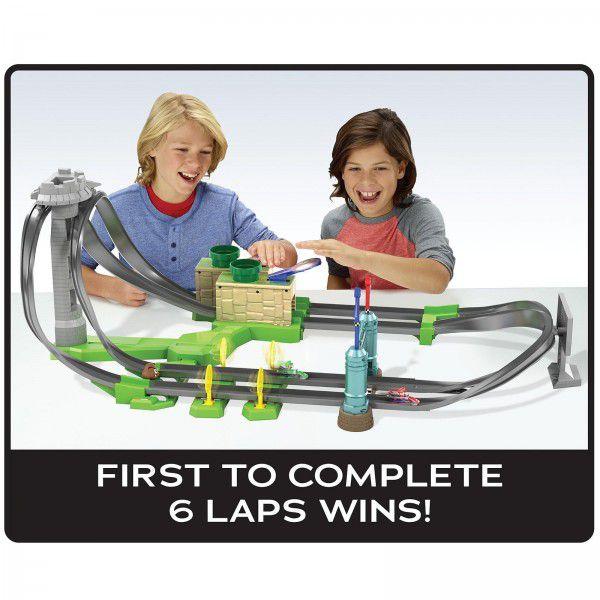 Pista Hot Wheels: Mario Kart (Mini Circuito De Corrida) - Mattel