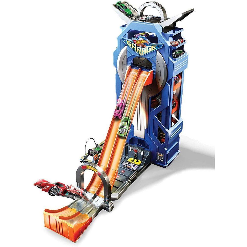 Pista Hot Wheels Mega Garagem - Mattel