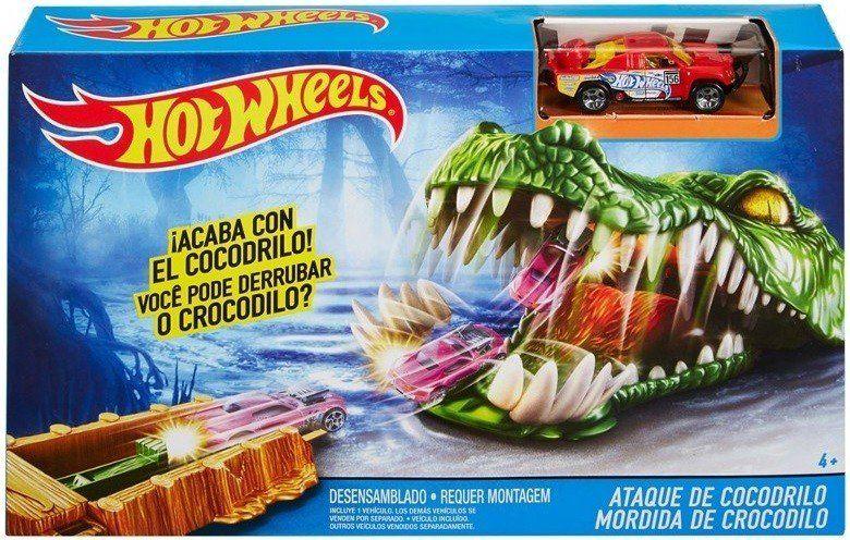 Pista Hot Wheels Mordida de Crocodilo - Mattel