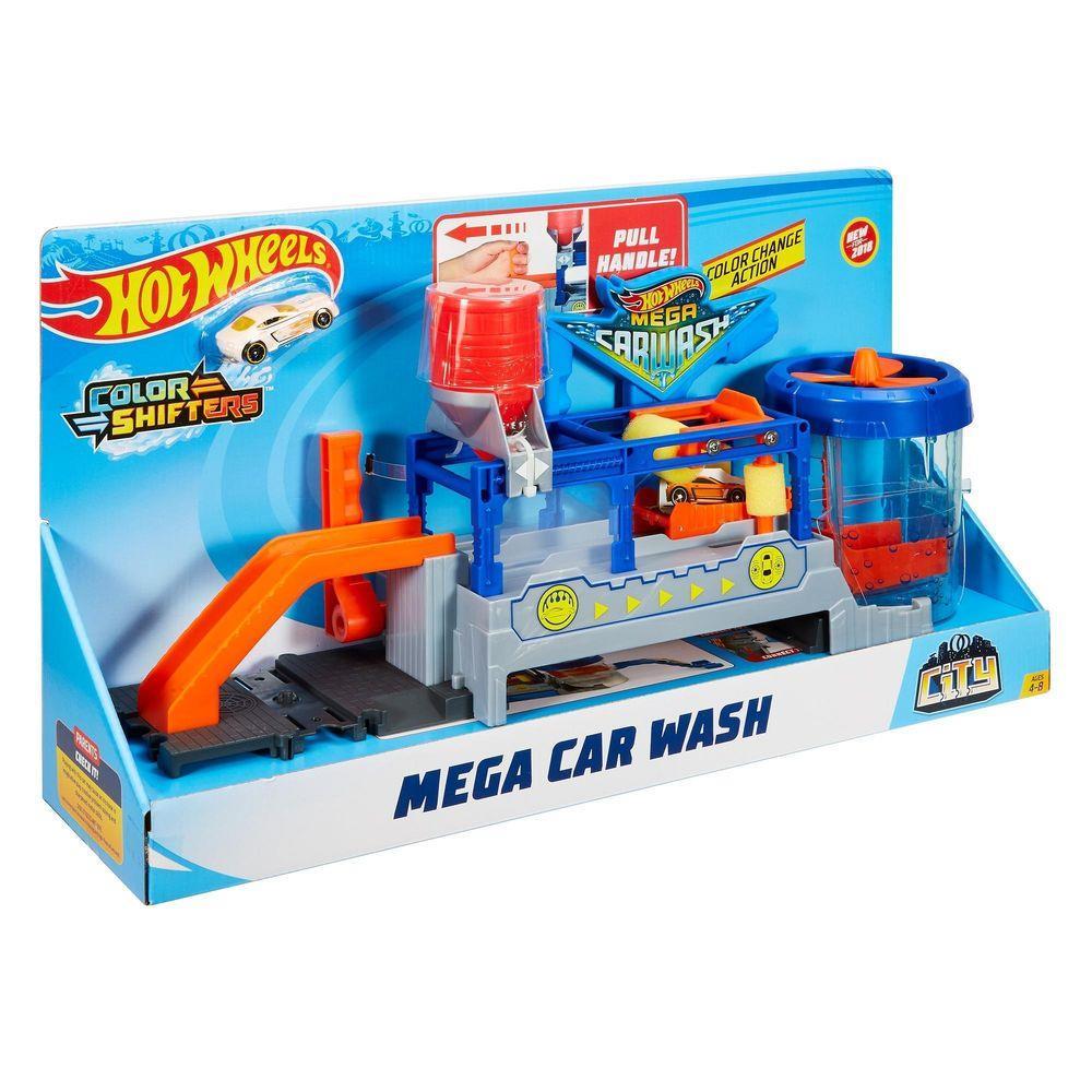 Pista Mega Lava Rápido: Hot Wheels -  Mattel