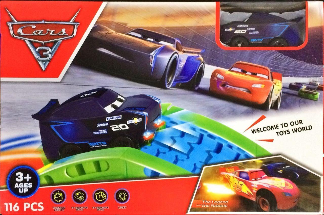 Pista Montável Jackson Storm: Carros 3