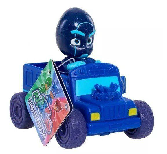 Pj Masks: Ninja Noturno (Azul): Mini Veículos - DTC
