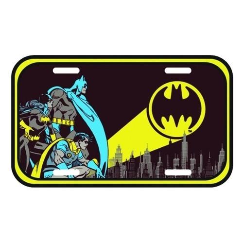 Placa De carro Batman Robin Batgirl: Gotham City  - Metropole