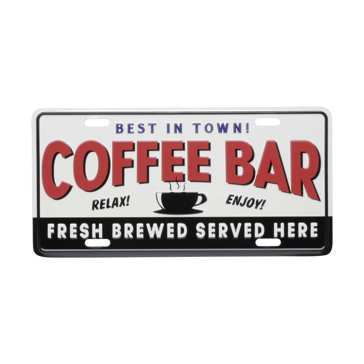 Placa de Carro Coffee Bar - Urban