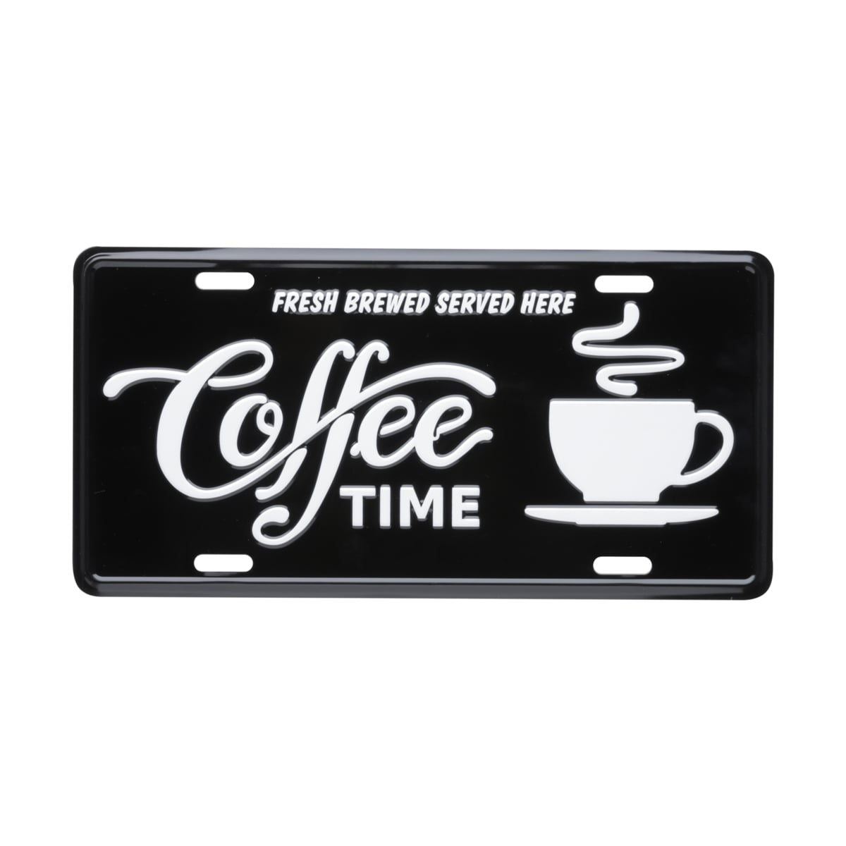 Placa de Carro Coffee Time - Urban