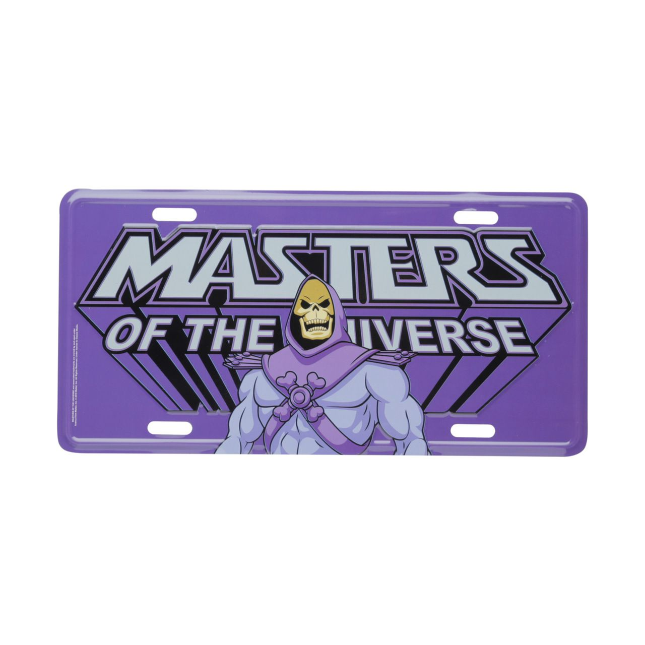 Placa De Carro Decorativa Esqueleto (Skeletor): Mestres do Universo (Masters of the Universe)