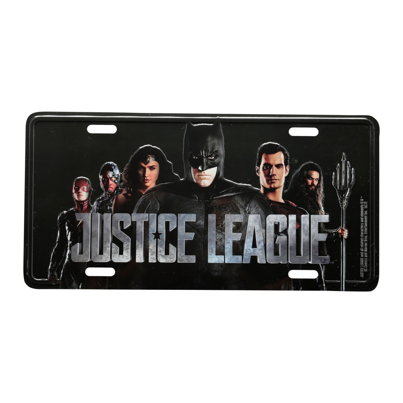 Placa de Carro: Liga da Justiça (Justice League) Dc Comics - Urban