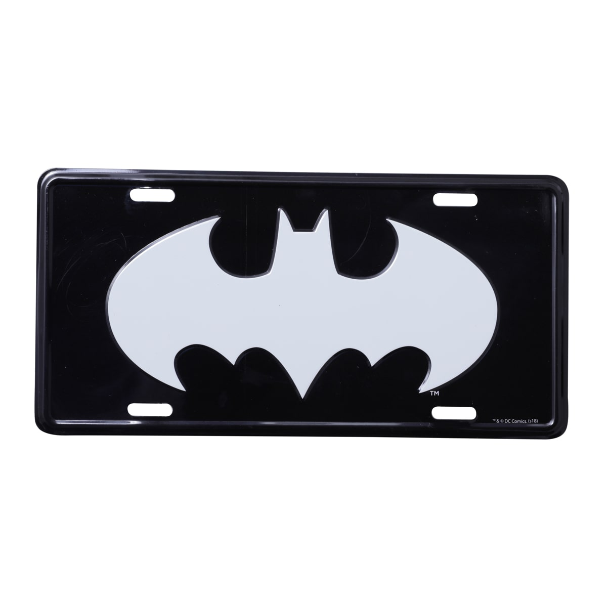 Placa de Carro Logo Batman (DC Comics) - Urban