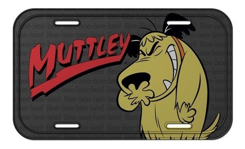 Placa De carro Muttley: Corrida Maluca  - Metropole