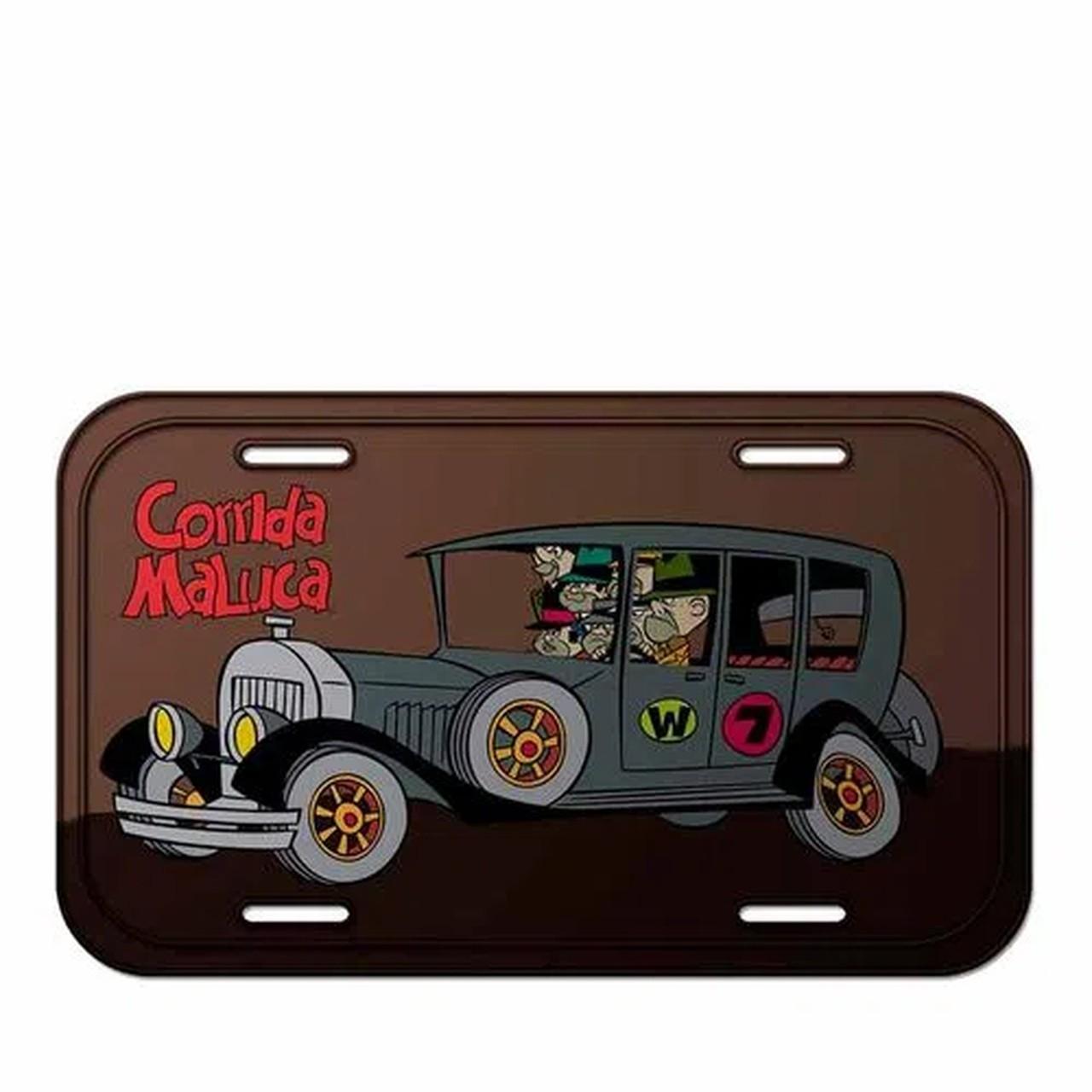 Placa De carro Quadrilha da Morte: Corrida Maluca  - Metropole